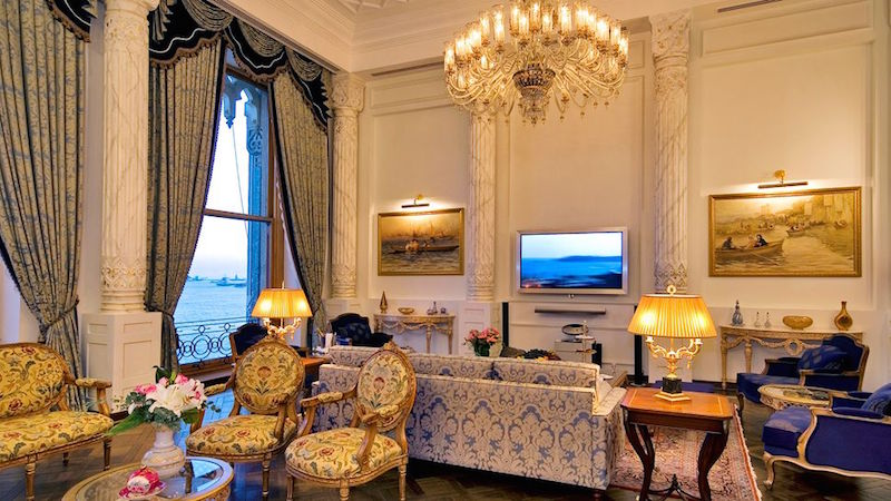 Luxury hotels for Muslims Ciragan Palace Istanbul