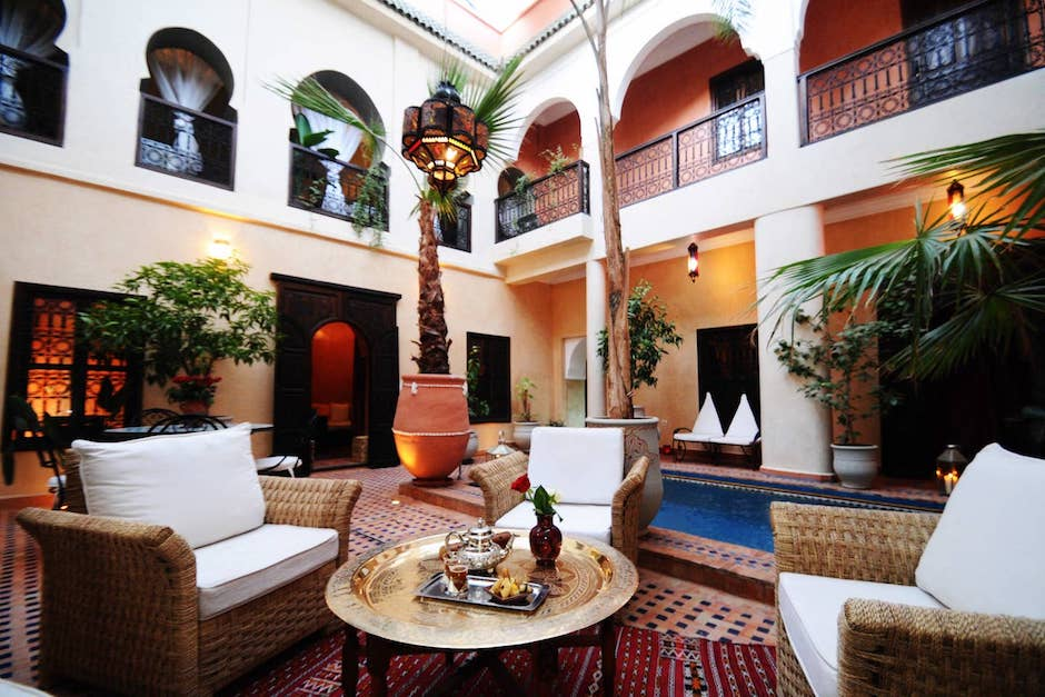 Halal friend 1 bedroom Riad in Marrakech morocco
